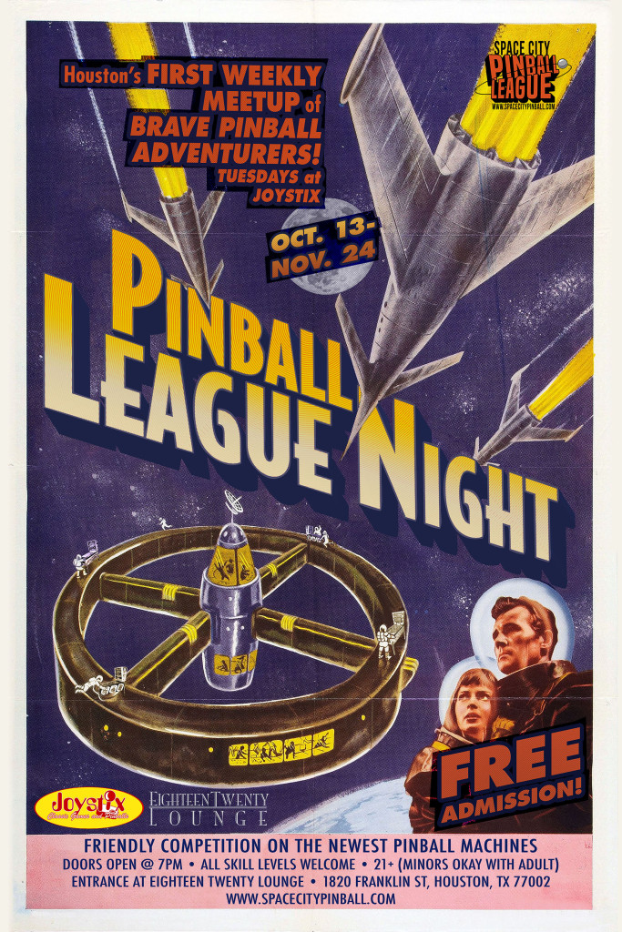 Pinball tourny poster small
