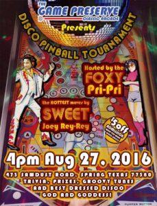 August 2016 Flyer